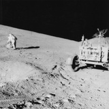 Astronaut David Scott (B193) on the Slope of Hadley Delta During Apollo 15, 1971 Photographic Print