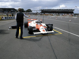 Andrea De Cesaris in a Mclaren-Cosworth MP4, British Grand Prix, Silverstone, 1981 Photographic Print