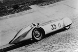Mercedes Streamliner Car of Rudolf Caracciola in the Avusrennen Race, Berlin, Germany, 1937 Photographic Print