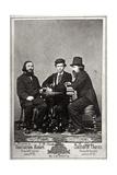 Violinist Johann Pickel with Composers Eduard Nápravník and Anatoly Lyadov, 19th Century Giclee Print