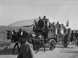 Soldiers of the French Foreign Legion Travelling by Wagon, Syria, 20th Century Photographic Print