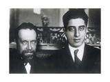 Composers Nikolai Myaskovsky and Aram Khachaturian, 1933 Giclee Print