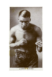 Larry Gains, Canadian Boxer, 1938 Giclee Print