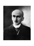Vitalism: Henri Bergson, French Philosopher, Early 20th Century Giclee Print