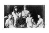 The Family of Tsar Nicholas II of Russia, 1910S Giclee Print