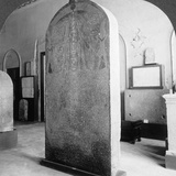 The Stela of Amenophis III, Cairo Museum, Egypt, 1905 Photographic Print