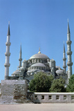 Sultan Ahmed Mosque, (Blue Mosqu), North Elevation, Istanbul, Turkey Photographic Print