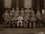 The Garrison Police of the 1st Royal Munster Fusiliers, Rangoon, Burma, 1913 Photographic Print