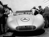 Mercedes Streamliner Car at Avus Motor Racing Circuit, Berlin, Germany, C1937 Photographic Print