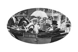 The Royal Arrival at Ascot, C1930S Giclee Print