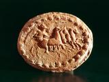 Quadriga, Kerkouane, Tunisia, 3rd Century Bc Photographic Print