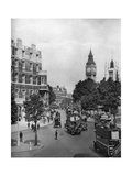 The Corner of Tothill and Victoria Streets, Looking Towards Parliament Square, London, 1926-1927 Giclee Print by Ellis