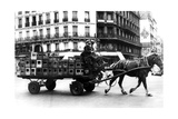 Horse-Drawn Cart Carrying Crates of Drink, German-Occupied Paris, July 1940 Giclee Print