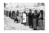The Jews Wailing Place, Jerusalem, C1926 Giclee Print