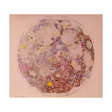 Geological Map of the Moon, 1967 Giclee Print
