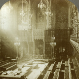 Interior of the House of Lords, Westminster, London Photographic Print