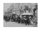The Market in the Ruins of Hohenstein, East Prussia, World War I, 1915 Giclee Print