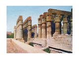 The Colonnade of Amenhotep III, Temple of Luxor, Egypt, 20th Century Giclee Print