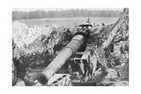 American 14 Inch Railway Gun, Meuse-Argonne Offensive, France, 1918 Giclee Print