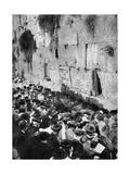 The Wailing Wall, Jerusalem Giclee Print