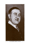 Victor Berliner, Boxing Promoter and Manager, 1938 Giclee Print