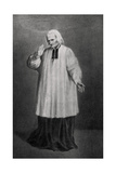 Jean-Marie Vianney, Cure D'Ars, French Priest, 1858 Giclee Print