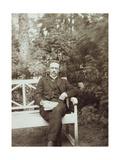 Jurgis Baltrusaitis, Lithuanian Poet, Early 20th Century Giclee Print