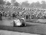 Dick Seaman with His Mercedes, Donington Grand Prix, 1938 Photographic Print