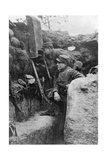 The Periscope in Use in a French Trench, First World War, 1914-1918 Giclee Print by  Sphere