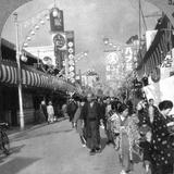 A Street in Yokohama, Japan, 1900s Photographic Print