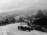 Fiat 1100S Berlinetta Competing in the Mille Miglia, Italy, 1947 Photographic Print