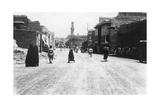 A Street in Baghdad, Mesopotamia, WWI, 1918 Giclee Print