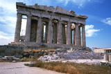 Parthenon on the Acropolis, Athens, 5th Century Bc Photographic Print
