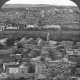 Jerusalem the Holy City, Rescued from the Turks, Palestine, World War I, C1917-1918 Photographic Print