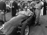 Roy Salvadori in a Maserati, Goodwood, 1954 Photographic Print