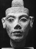 Nefertiti, Queen and Wife of the Pharaoh Akhenaten, Ancient Egyptian, 14th Century BC Fotografisk tryk