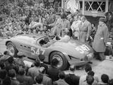 Ferrari of Giannino Marzotto, Mille Miglia, Italy, 1953 Fotografisk tryk