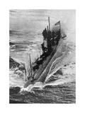 American Submarine 'Preparedness' at Full Speed, First World War, 1914-1918 Giclee Print