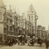 Law Courts, Strand, London, Late 19th Century Photographic Print