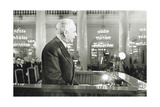 Louis Aragon, French Poet and Novelist, Moscow, USSR, 1954 Giclee Print