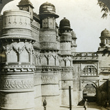 Man Singh Palace, Gwalior, Madhya Pradesh, India, C1900s Photographic Print by  Underwood & Underwood