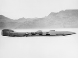 Goldenrod' Land Speed Record Attempt Car, Bonneville Salt Flats, Utah, USA, 1965 Photographic Print