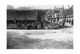 Arab Coffee Shop, Baghdad, Mesopotamia, Wwi, 1918 Giclee Print