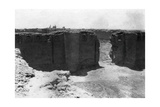Samarra City from the Malwiya Tower, Mesopotamia, 1918 Giclee Print