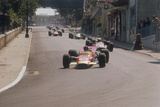 Graham Hill's Lotus Leading John Surtees' Honda, Monaco Grand Prix, 1968 Fotodruck