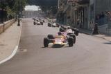 Graham Hill's Lotus Leading John Surtees' Honda, Monaco Grand Prix, 1968 Photographic Print