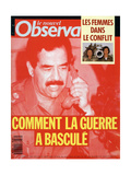 Front Cover of Le Nouvel Observateur, Febuary 1991 Giclee Print
