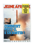 Front Cover of Jeune Afrique, 1991 Giclee Print