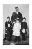 Members of the Royal Family, Balmoral, Scotland, 1902 Giclee Print