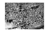Aerial View of London, Showing St Paul's Cathedral, 1926 Giclee Print